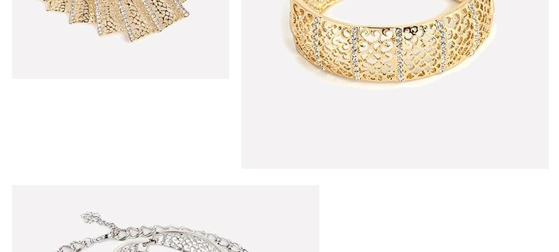 AYAYOO Jewelry Sets For Women Fashion African Beads Jewelry Set Nigerian Wedding Big Gold Color Costume Dubai Jewelry Sets (3)