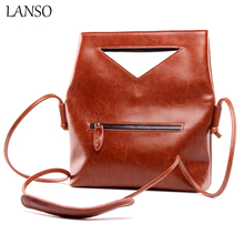 European and American Women's Handbag Imported Real Leather Shoulder Bag Classic Design Envelope Messenger Bags Satchel Purse(China)