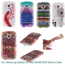 S3 Mini Case Soft Silicon IMD Gel Tpu Back Cover Case For Samsung Galaxy S3 Mini I8190 Capa Protective Phone Cases For S3 Mini(China)