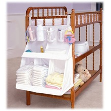 Baby Bed Accessories Baby Bed Organizer Hanging Storage Bag Infant Diaper Toy Holder Cot Newborn Crib Organizer Bedding Products(China)