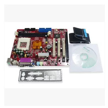 VIA 8601 Pentium3, Celeron 3/4 industrial motherboard with 1 ISA slot, 3 PCI slots , DDR, IDE(China)
