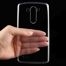 New Transparent Clear Ultra Thin Soft TPU Silicone Cell Phone Back Cover Skin Case For Asus ZenFone 2 Laser 5.0 ZE500KL