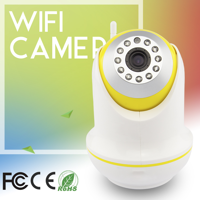High Quality 1MP H.264 720P HD Video Baby Monitor PTZ Security Camera CMOS Night Vision Indoor IR Protection Mobile Remote Cam<br><br>Aliexpress