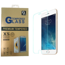 High Quality 0.26mm LCD Clear Premium Tempered Glass Screen Protector For iPhone 6 6s Protective Film With Retail Package(China)