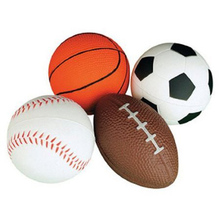 LeadingStar 4Pcs Promotional gifts PU football, basketball, football, baseball Toys for children