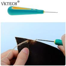 Buy Awl Hook Needle Steel Stitcher Hole Punching Leather Sewing Awl Needle Set Detachable Hand Stitcher Taper Needle Shoes Repair for $1.04 in AliExpress store
