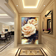 5D Diy diamond Painting rose picture Needlework cross stitch Full diamond embroidery diamond mosai chome decor gift