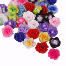 NiceBeads Handmade Soft Polymer Fimo Clay Fashion Flower DIY necklace bracelet hair ornament Jewelry Making& Craft Dec