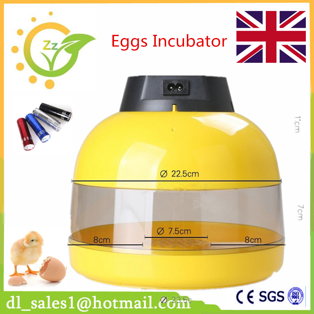 Best Sale Digital Temperature Control 10 Eggs Automatic Incubator Home Use Mini Poultry Eggs Incubators<br>