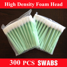 Factory Supply - 300 pcs The highest quality inkjet Printer Cleaning Swabs are best foam swabs(China)