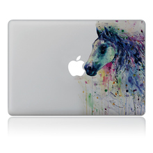 Fantasy Horse ink style Vinyl Decal Laptop Sticker For Apple Macbook Pro Air 11 13 15 inch Laptop Skin