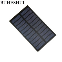 BUHESHUI 5.5V 290mA 1.6W Solar Panels Small Solar Power 3.6v Battery Charge Solar Led Light Solar Cell Charger Free Shipping(China)