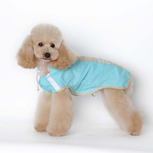Leisure Style 2 legs Pet dog  PU Waterproof Raincoat Hoodies Clothes Puppy Dog Jacket Raincoat  S-5XL