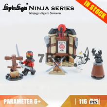 06056 Compatible Lego blocks Ninjago 70606 Ninjago Figure Samurai Model building toys hobbies bricks children Gifts