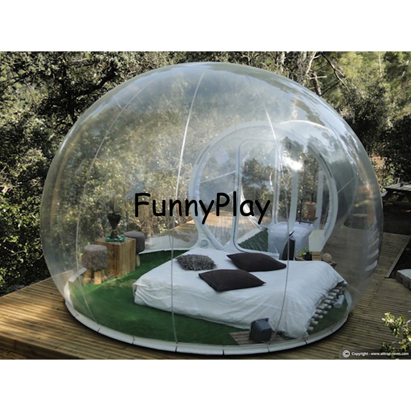 inflatable transparent tent6