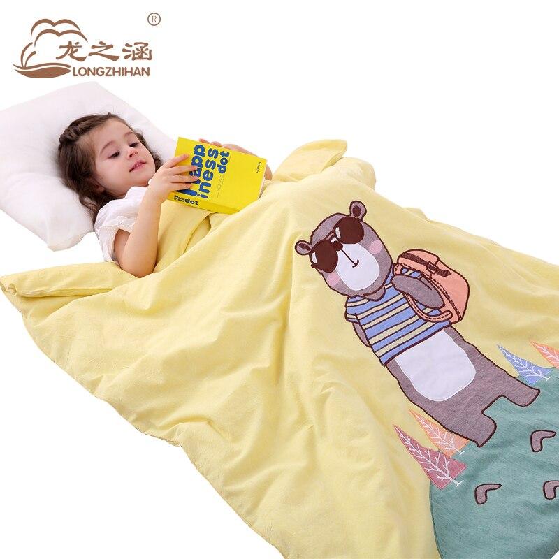 Baby Blanket 100% Cotton Muslin Baby Blankets Newborn Character Children Autumn and winter Quilt  Baby Bedding 0-6 Years <br>