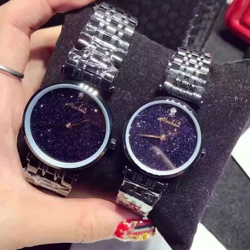 Brand Simple Thin Rhinestone Gold Quartz Watches Women Fashion Men Watch Womens Watches Dress Wristwatch For Women<br>