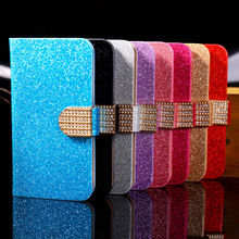 PU Leather Covers Case For Apple iPod Touch 5 5th 5G Cases Luxury Bling Protective bag with Card Holder Durable Shell back cover