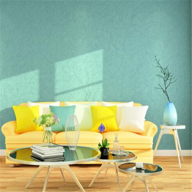 beibehang   papel pintado Pure color silk bedroom wallpaper simple modern non - woven wallpaper papel tapiz  papel mural  tapet<br>