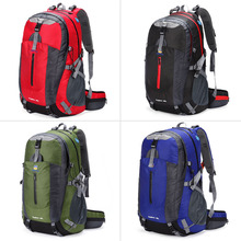 Unisex Backpack Outdoor 40L bag Travel Hiking Waterproof Luggage Rucksack Backpack mochilas 420D polyester invisible lattice