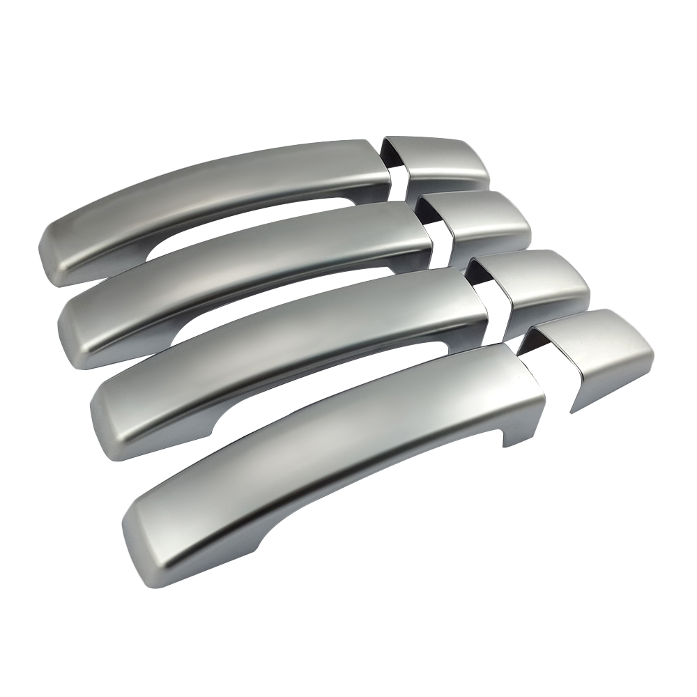 8PCs ABS Chrome Side Door Handle Cover Trim Replacement fits for Land Rover Discovery Freelander 2 Car Accessories<br>