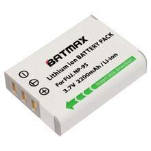 Batmax 1Pc NP-95 NP 95 NP95 FNP95 Rechargeable Battery for Fujifilm X30 X100 X100S X100T XS1 Fujifilm FinePix F30 F31 Real 3D W1