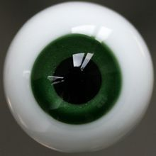 [wamami] Y45# 14mm Green Eyes For BJD Doll Dollfie Glass Eyes Outfit(China)