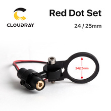 Diode Module Red Dot Set Positioning DC 5V for DIY Co2 Laser Engraving Cutting Head(China)