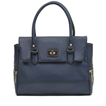 Flap Tote Bag, shoulder bags for women, cute cheap bags, blue color bag, min satchel bag, Faux Leather bags, women totes bags
