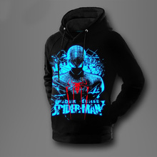 [XHTWCY]New Winter Warm spiderman spider-man Hoodies Captain America The Avengers 2 Iron man Sweatshirts(China)