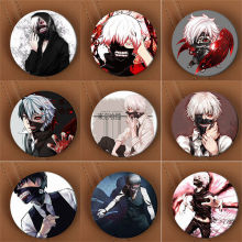 Youpop Tokyo Ghoul Anime Brooch Pins Badge Accessories For Clothes Hat Backpack Decoration Men and Women Boy Girl HZ1341(China)