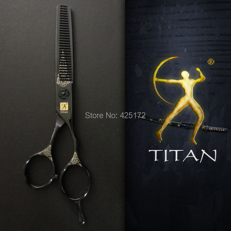 Titan hair scissors  solingen germany scissors  thinning scissors  hair scissors cobalt baber shop equipment<br><br>Aliexpress