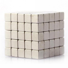 100pcs Super Strong Magnets Cube Rare Earth Disc Neodymium N35 3mm x 3mm x 3m(China)