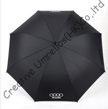 130cm diameter Volkswagen car umbrella,auto open.14mm fiberglass shaft and 5.0 fiberglass ribs,golf umbrella,windproof