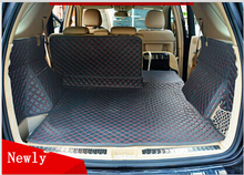 Good! Special trunk mats for Mercedes Benz ML350 W166 2015-2012 waterproof boot carpets for ML 350 W164 2011-2006,Free shipping