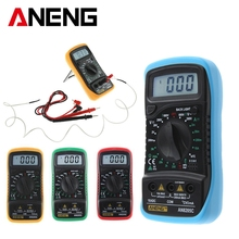 ANENG AN8205C Thermometry Digital Multimeter Voltmeter Ammeter AC DC OHM Volt Tester Test Temperature gauge (32621) HR(China)