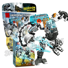 88pcs Bela 2016 Hero Factroy Stormer Freeze Machine Model Building Action Bricks Toys Compatible With Lego(China)