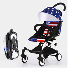 Fashion hot Mommy stroller quality luxury but cheap price baby carriages prams portable Light folding children european stroller