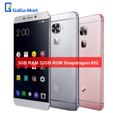 Letv LeEco Le 2 X520 4G LTE Smartphoe Android 6.0 Snapdragon 652 Octa-core 3GB+32GB 16.0MP+8.0MP 5.5'' Fingerprint Mobile Phone