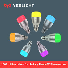 Original Xiaomi Yeelight Blue II LED Smart Bulb Colourful ( Color )E27 9W 600 Lumens Mi Light Smart Phone WiFi Remote Control