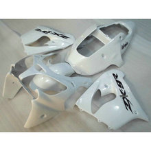 ABS plastic full fairing set for Kawasaki ZX9R 2002 2003 all white aftermarket body Fairings parts Ninja 636 ZX 9R 02 03 YH01