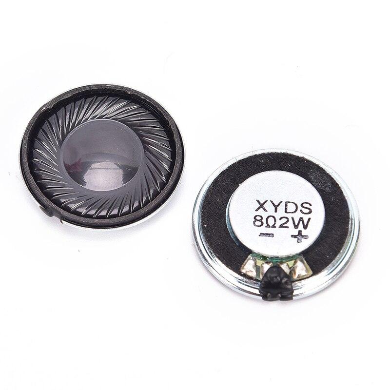 Durable 2Pcs Horn Trumpet Loudspeaker Speaker Stereo Woofer Audio 8Ω 0.5W 20mm