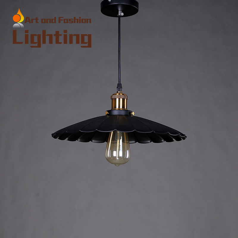 Chinese style light creative personality cafe rural countryside lamp retro industry Hardware lotus leaf pendant lamp CY-DD-054<br><br>Aliexpress