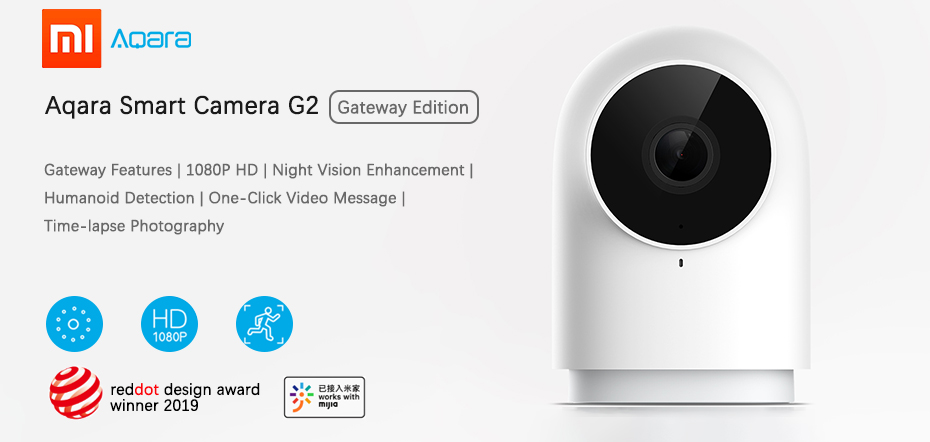 xiaomi mijia aqara smart camera G2