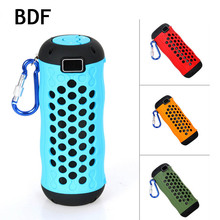 BDF Outdoor Riding Mobile Bluetooth Speaker G1000 Music Player Hands-free Super Dustproof Anti Fall Portable Wireless Speaker(China)