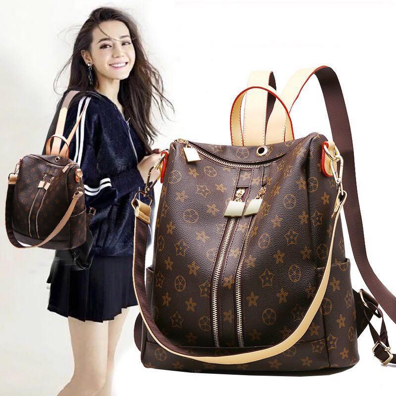 2017 Fashion Design Women Backpack High Quality Youth Leather Backpacks for Teenage Girls Female School Shoulder Bag Bagpack mo<br>