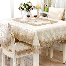 European embroidery table cloth mat tablecloth lace tablecloth table dinner ornament runner square round Garden wholesale