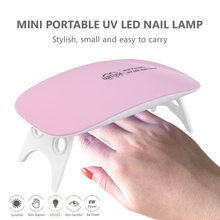 Quality Nail Lamp 8W UV LED Light Dryer Gel Machine Professional Manicure Lamp With Time Display For Finger and Toenails(China)