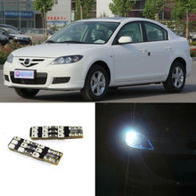 2pcs Advanced LED Width Lamps Car Wedge Warning Light Bulb For Mazda 3