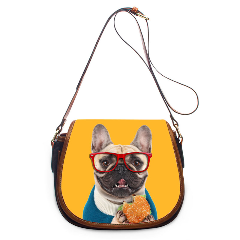 FORUDESIGNS Kawaii Dog Women Messenger Bags,Mini Crossbody Bags for Womens 2017 Red Small Cross Body Shoulder Bags Girls Brand<br>